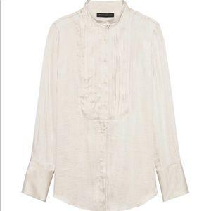 BANANA REPUBLIC Dillon fit Soft Tuxedo Shirt NWOT